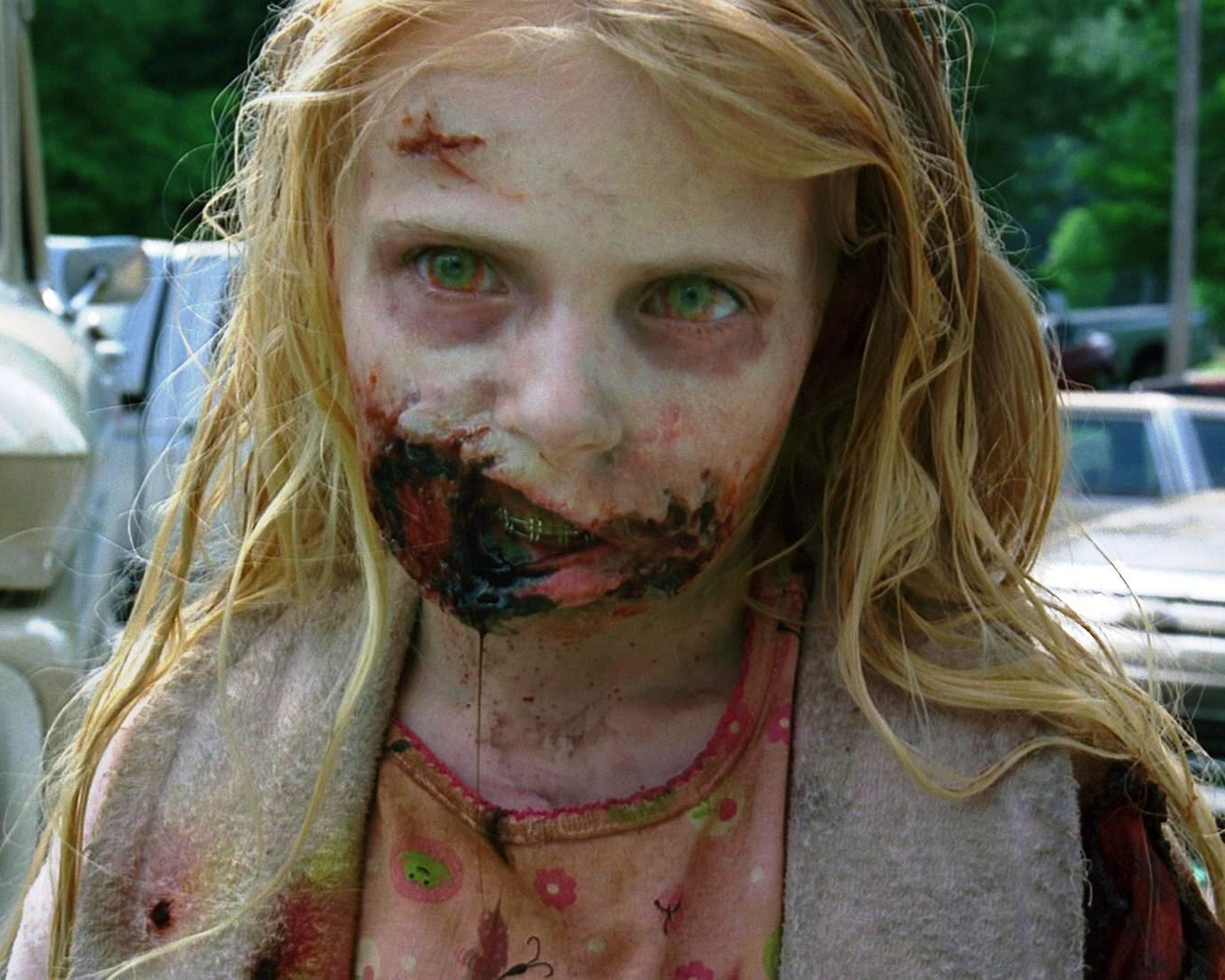 The First Zombie On Walking Dead Doesn T Look Like This Anymore