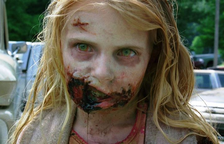 The first zombie on walking dead doesnt look like this anymore greg nicoteroamc solutioingenieria Images