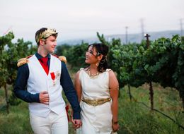 This Couple Turned Their Wedding Into One Epic Costume Party