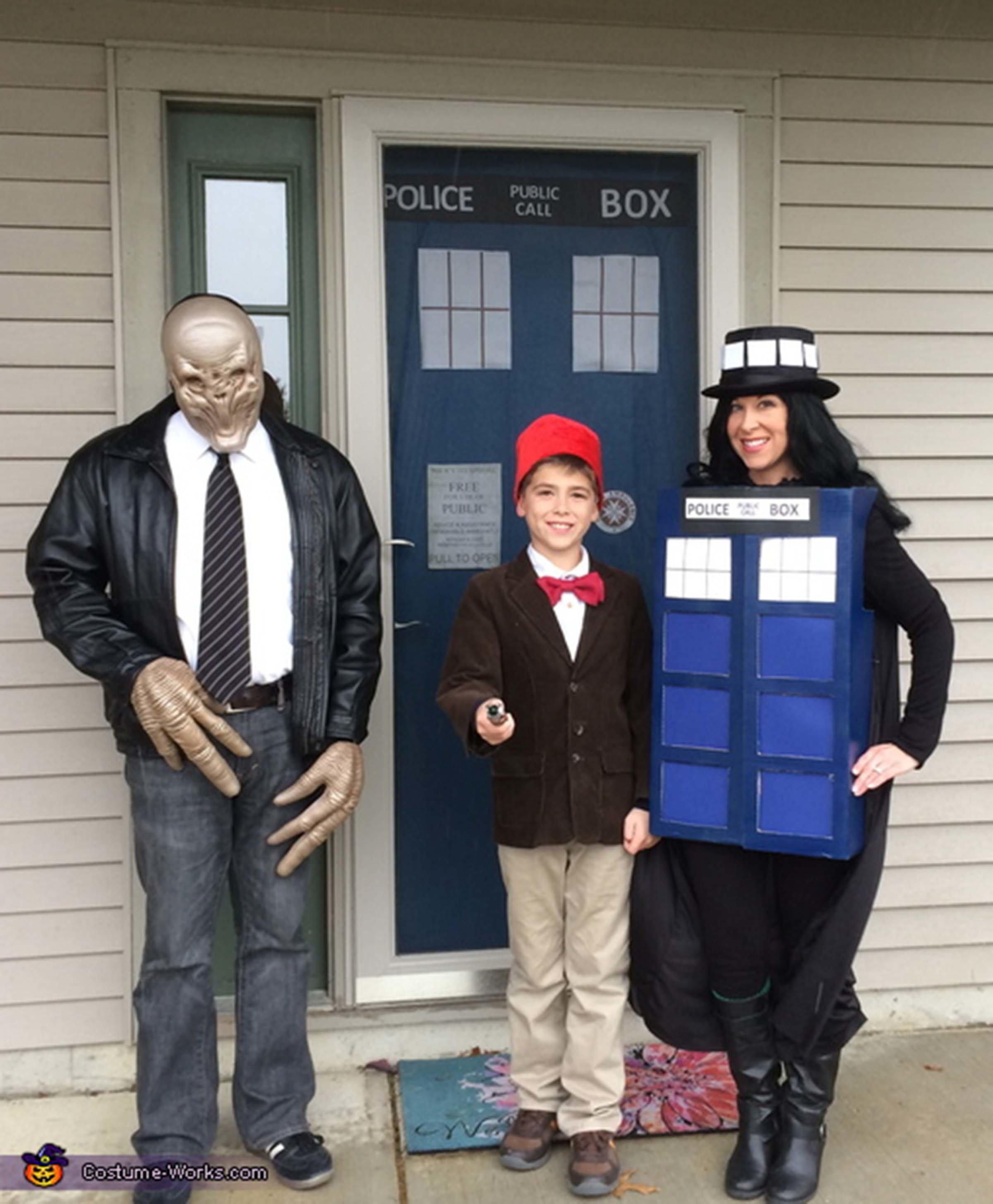 Via Costume Works. 17 Doctor Who Family. Via \u003ca ... Sc 1 St HuffPost  sc 1 st  Germanpascual.Com & Dr Who Halloween Costume u0026 Via Costume Works. 17 Doctor Who Family ...
