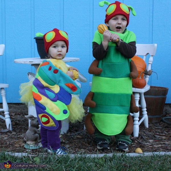 """Via <a href=""""http://www.costume-works.com/costumes_for_kids/very_hungry_caterpillar_and_beautiful_butterfly.html"""" target=""""_bl"""