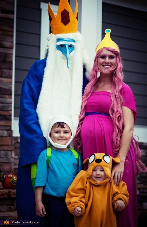 "Via <a href=""http://www.costume-works.com/costumes_for_families/adventure-time.html"" target=""_blank"">Costume Works</a>"