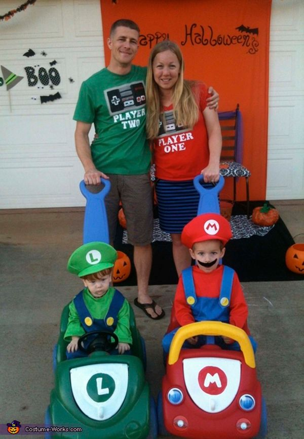 costume works - Family Halloween Costumes For 4