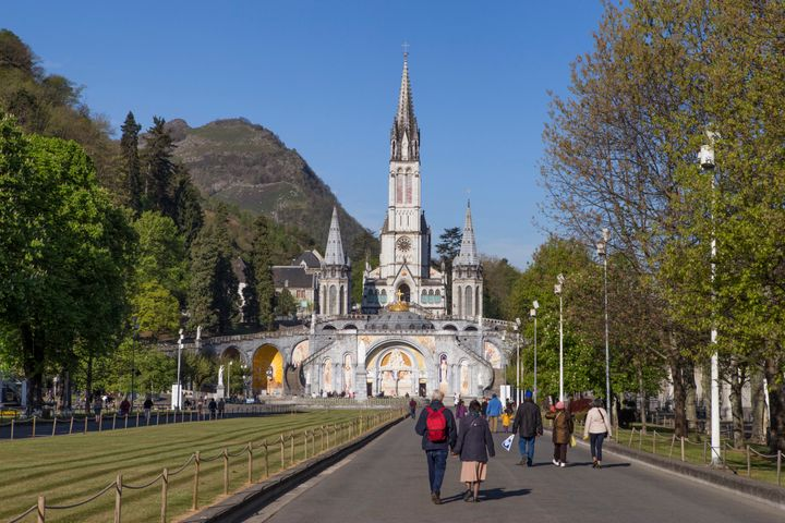 Sanctuary of Our Lady of Lourdes, Basilica of the Immaculate Conception and Rosary Basilica.
