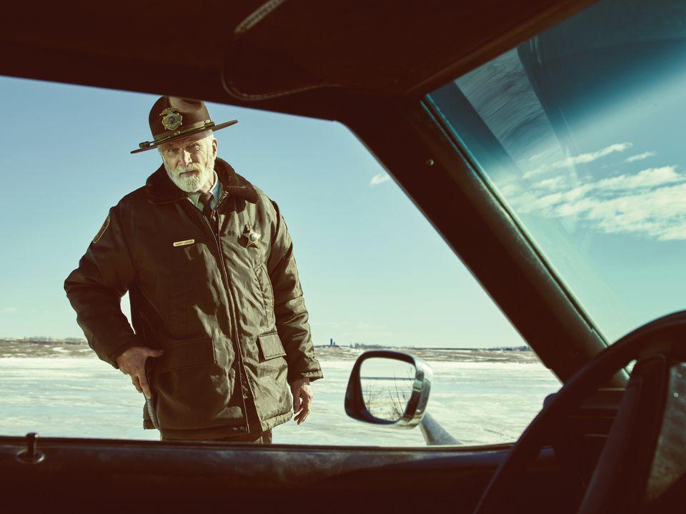 FARGO -- Pictured: Ted Danson as Hank Larsson.CR: Mathias Clamer/FX