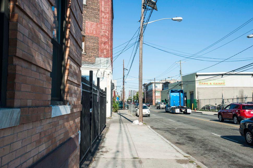 The Darbis' new Jersey City street.