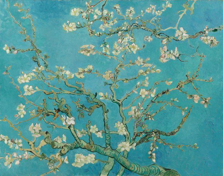 "Vincent van Gogh, ""Almond Blossom,"" 1890."