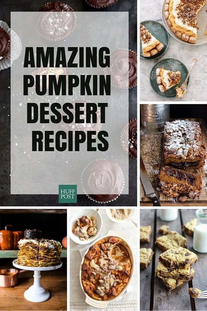 The Pumpkin Dessert Recipes You Want And Need