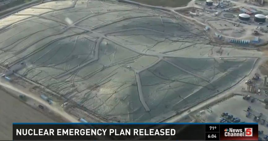 Officials Release Disaster Plan In Case Landfill Fire Reaches Nuclear Waste