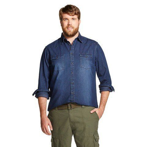 target's only plus-size male model: shopping was 'terrifying