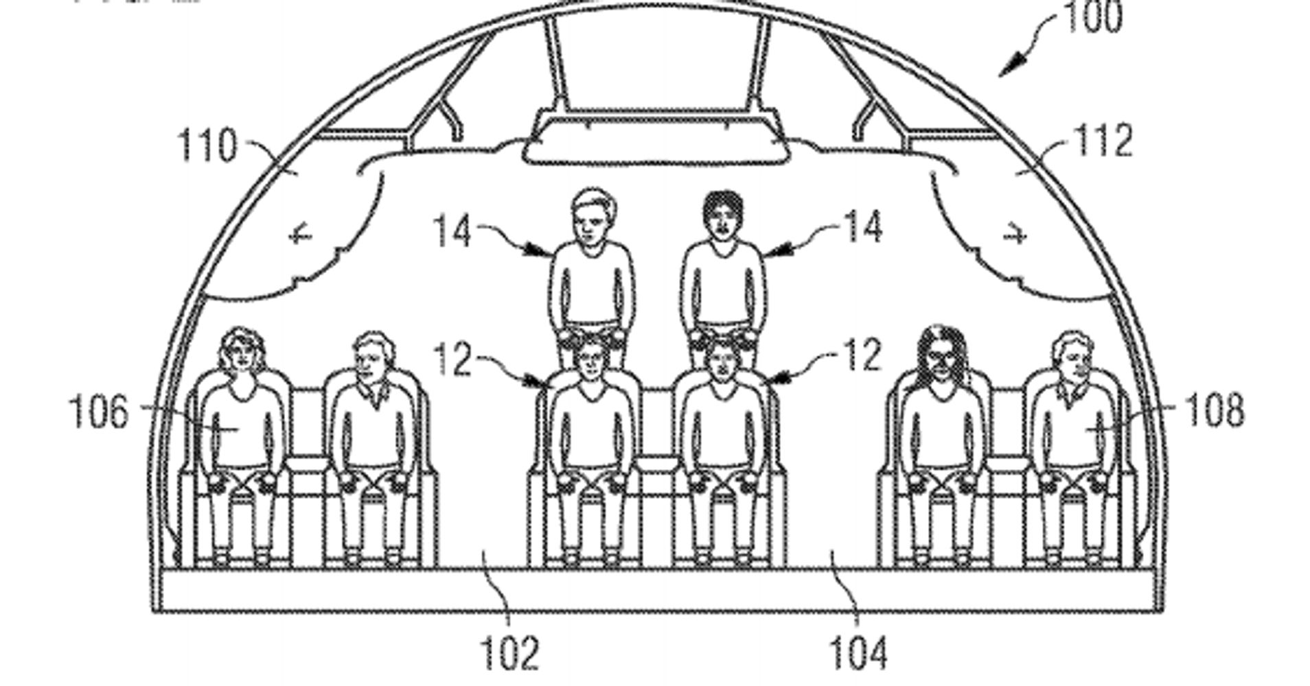 These 'Stacked' Plane Seats Could End The Legroom Problem