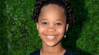 LOS ANGELES, CA - JANUARY 15:  Actress Quvenzhané Wallis attends the 20th annual Critics' Choice Movie Awards at the Hollywood Palladium on January 15, 2015 in Los Angeles, California.  (Photo by Jeff Kravitz/FilmMagic)