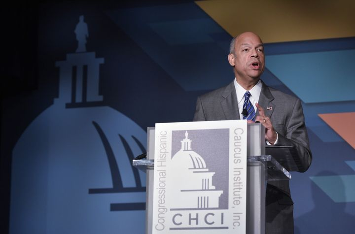 Homeland Security Secretary Jeh Johnson says people in public office should be more responsible in how they discuss and make