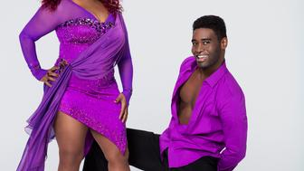 DANCING WITH THE STARS - CHAKA KHAN & KEO MOTSEPE - The celebrity cast of 'Dancing with the Stars' is lacing up their ballroom shoes and getting ready for their first dance on MONDAY, SEPTEMBER 14 (8:00-10:01 p.m., ET) on the ABC Television Network. Chaka Khan is partnered with Keo Motsepe. (Craig Sjodin/ABC via Getty Images)