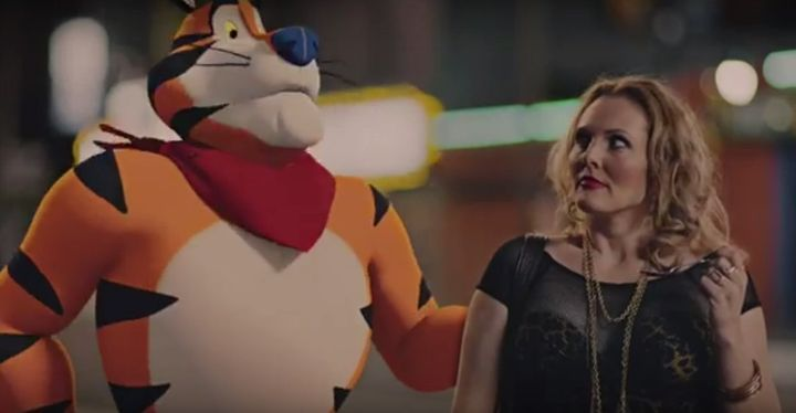 Kellogg's cartoon character Tony the Tiger appears in new offensive prank video.
