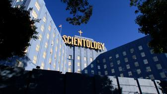 Scientology building on Fountain Avenue in Los Angeles.  (Photo by Irfan Khan/Los Angeles Times via Getty Images)