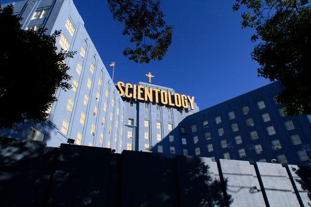 Scientology Blue Building