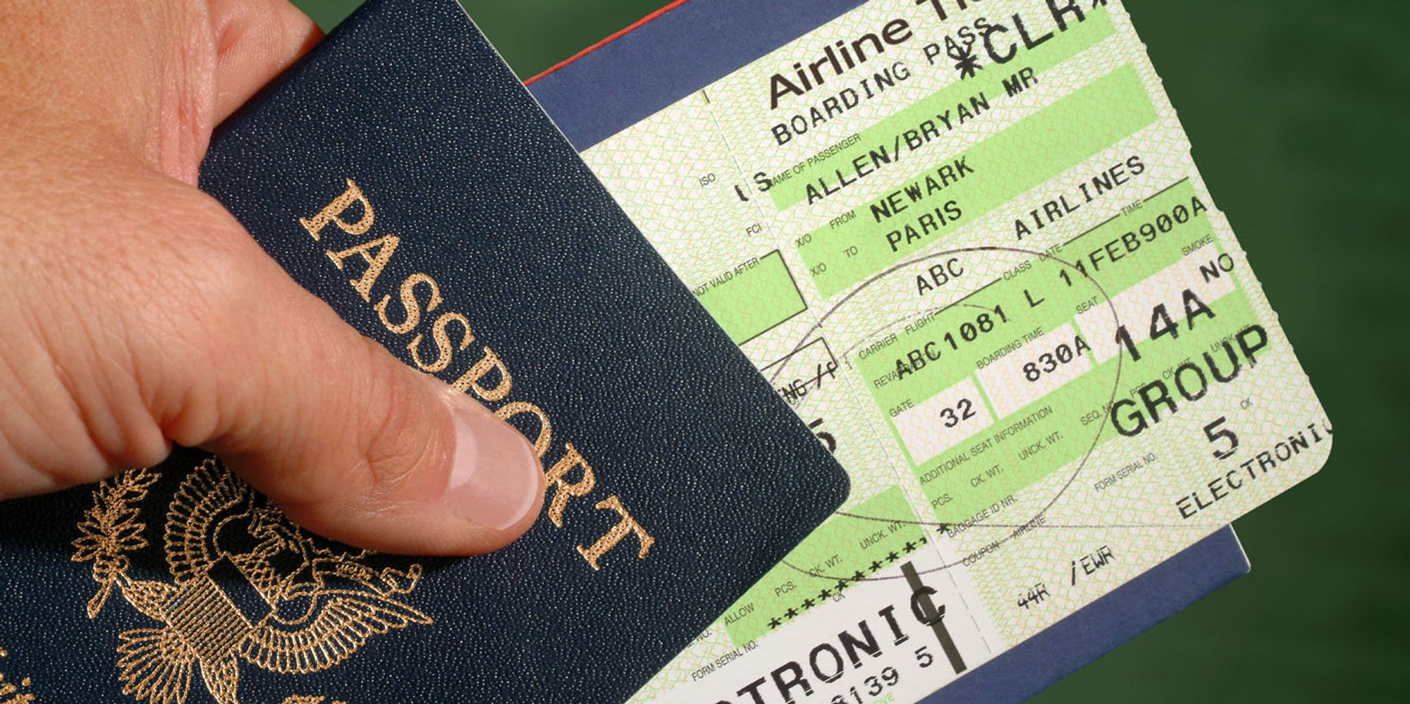 Как сделать бронь на авиабилеты для визы