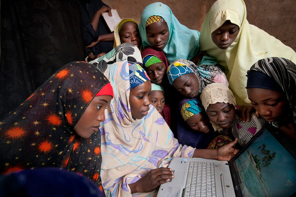 An hour outside of Kaduna, Nigeria, the Bixby Girl Child Education Project works to increase access to education for girls in