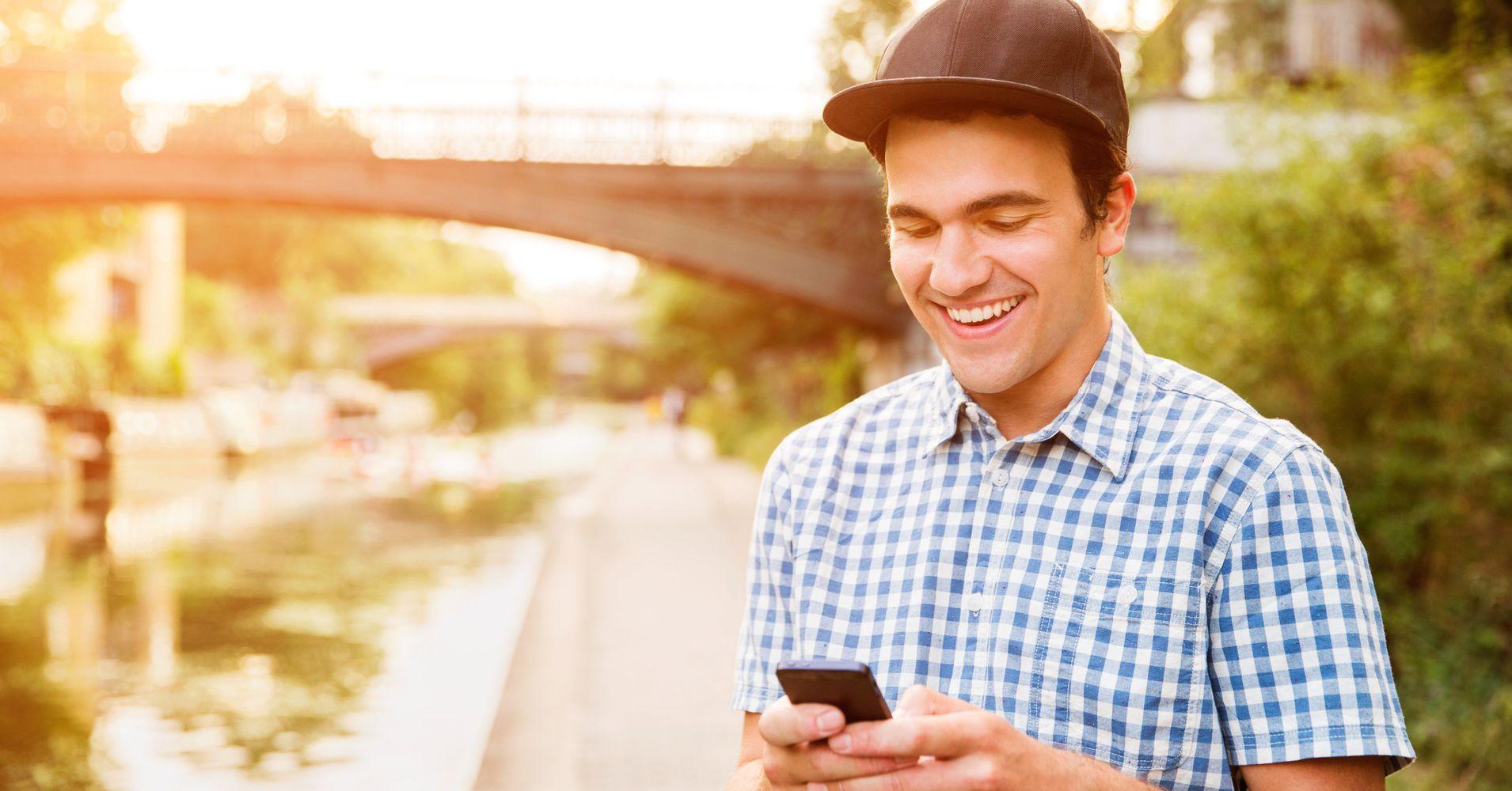 Nehmen Sie es langsam Online-Dating