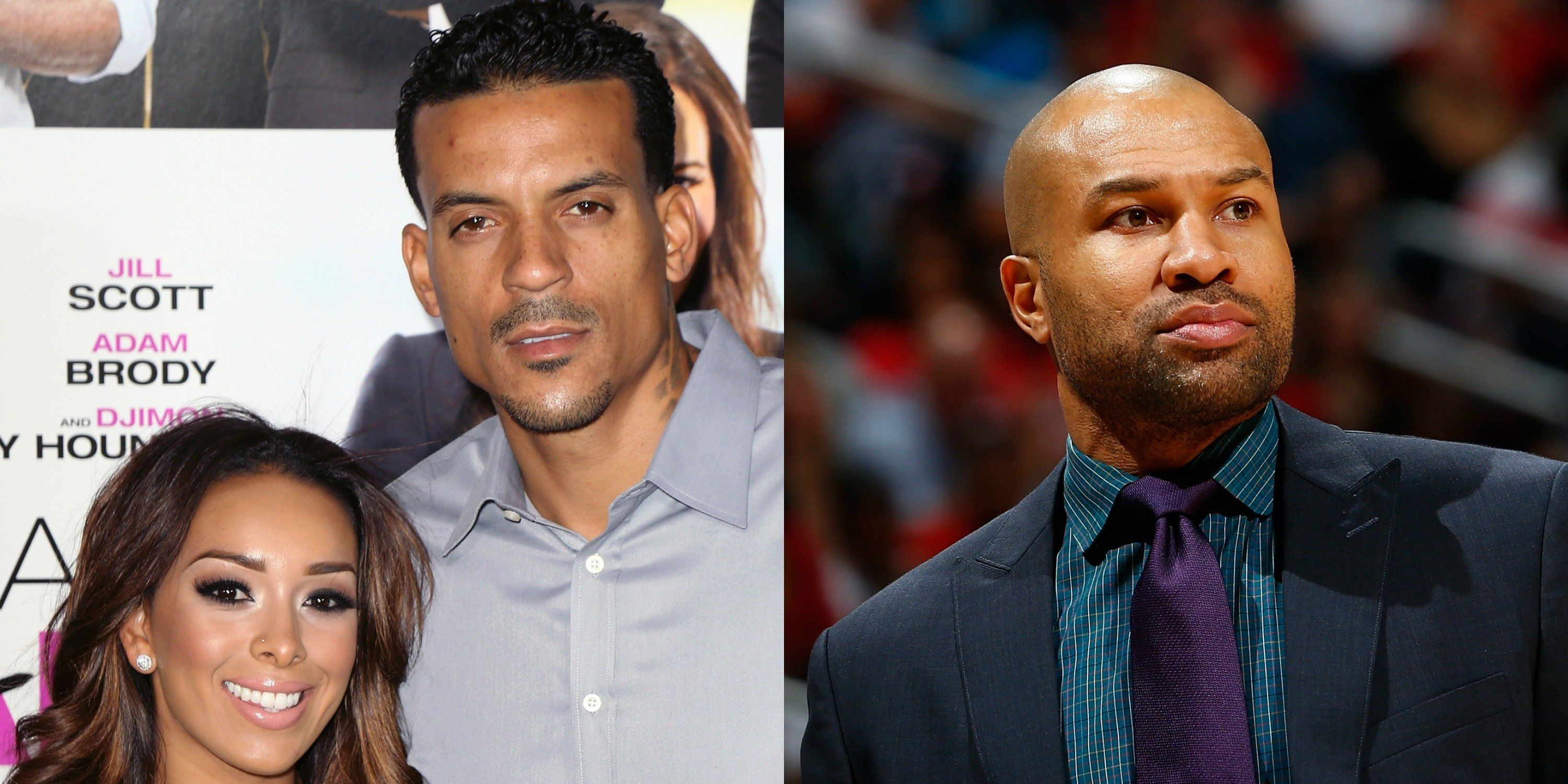Matt Barnes reportedly attacked former teammate Derek Fisher in Los Angeles because Fisher's dating his ex-wife, Gloria Govan.