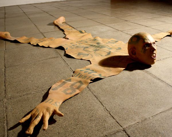 Renato Garza Cervera Creates Skin Rugs Depicting Horror