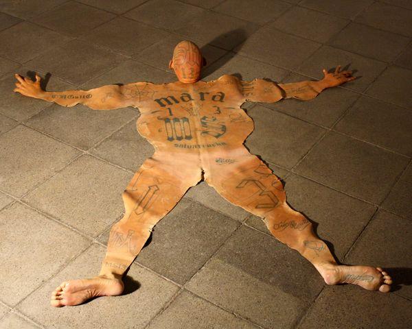 Renato Garza Cervera Creates Skin Rugs Depicting Horror