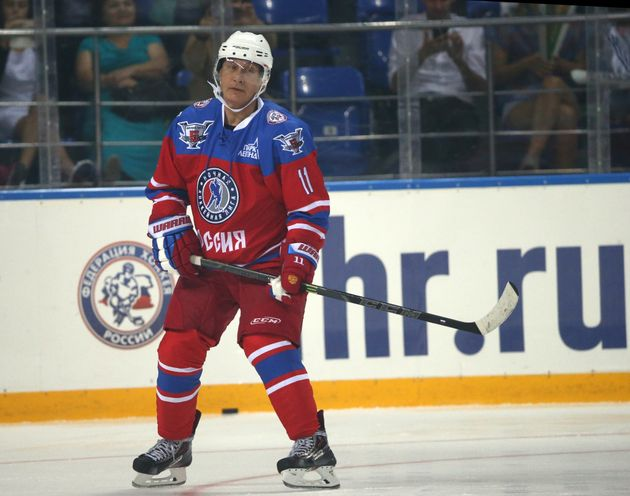 Vladimir Putin is the greatest hockey player in Russian history, according to Vladimir