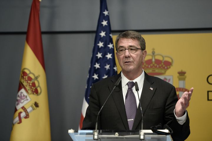 "Secretary of Defense Ashton Carter called the Russian's efforts in Syria a ""mistaken strategy."""