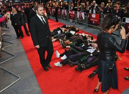 Feminist Activists Take Over 'Suffragette' Premiere To Highlight Domestic Violence