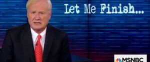 MSNBC CHRIS MATTHEWS