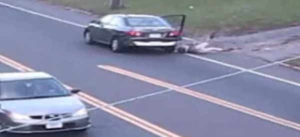 Camera Captures Teen's Jump From Alleged Abductor's Car