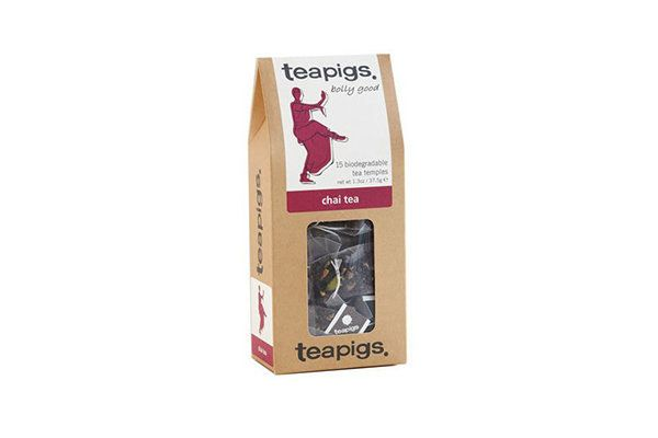 "We forgive Teapigs for calling it ""chai tea"" (hello, redundant), because their blend is so delightfully fragrant."