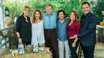 "It's our ""Little House on the Prairie"" reunion show! Mark Steines and Cristina Ferrare welcome actors Melissa Gilbert, Dean Butler, Matthew Labyorteaux, and Lindsay Greenbush. Melissa Gilbert cooks gingersnap pumpkin pie. Michael Landon Jr. and Leslie Landon pay tribute to their late father, actor Michael Landon. We visit the old shooting locations with actress Alison Arngrim. Debbie Matenopoulos honors the memory of Laura Ingalls Wilder, the author of the ""Little House on the Prairie"" books. Christmas is coming early. Dean Butler is making a DIY Christmas tree stand. Tanya Memme and Paige Hemmis team up for a creative covered wagon tablescape. Kym Douglas is sharing prairie herbs and making lemon verbena perfume. And, save money with Sandie Newton and Hollywood Steals!