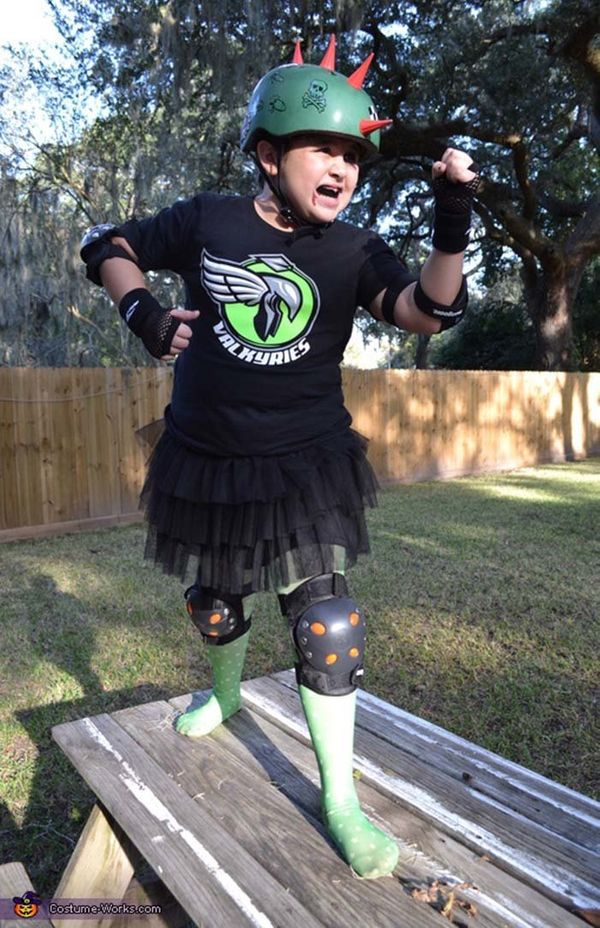 via costume works 11 roller derby girl via