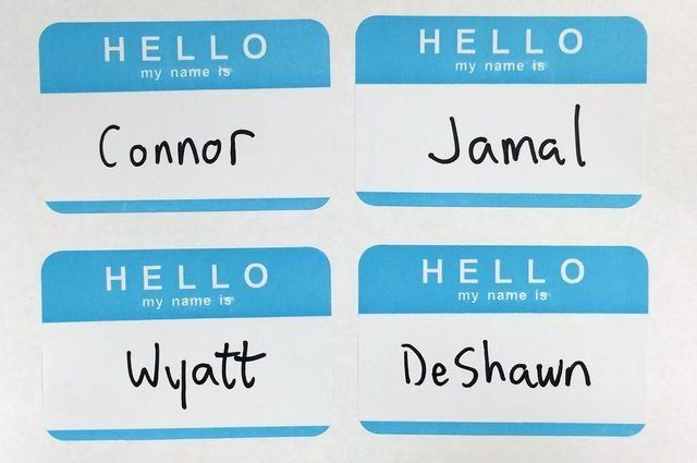 UCLA researchers found that people envisioned men with stereotypically black names like Jamal or DeShawn...