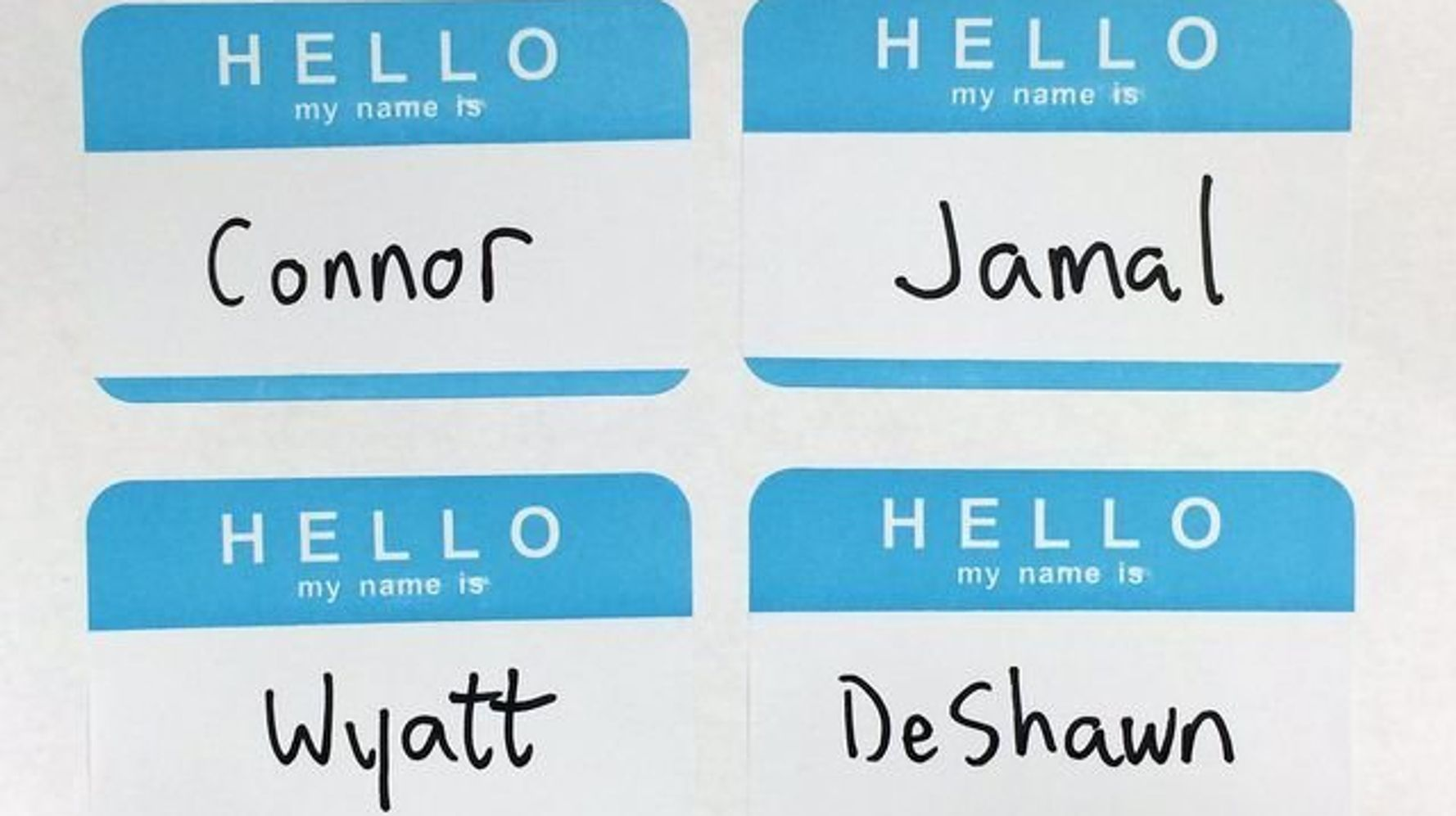New Study Confirms Depressing Truth About Names And Racial Bias