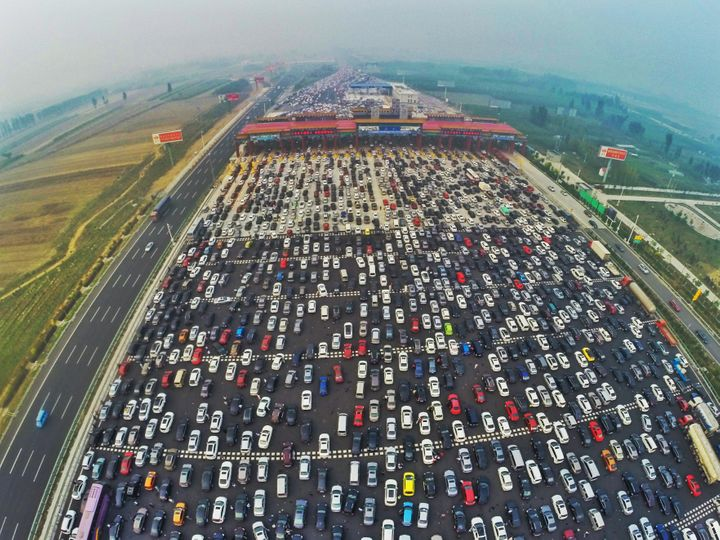Image result for bottleneck traffic beijing