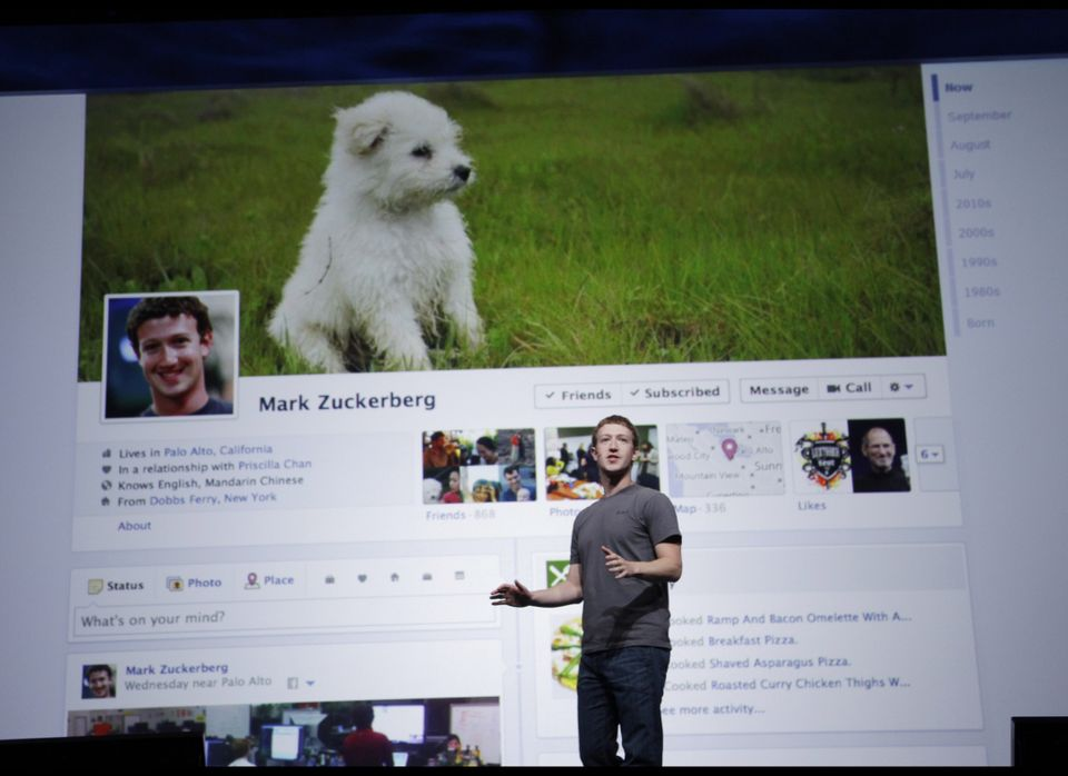 While past iterations of the Facebook profile have featured a customizable photo that sat near the upper left of the page, us