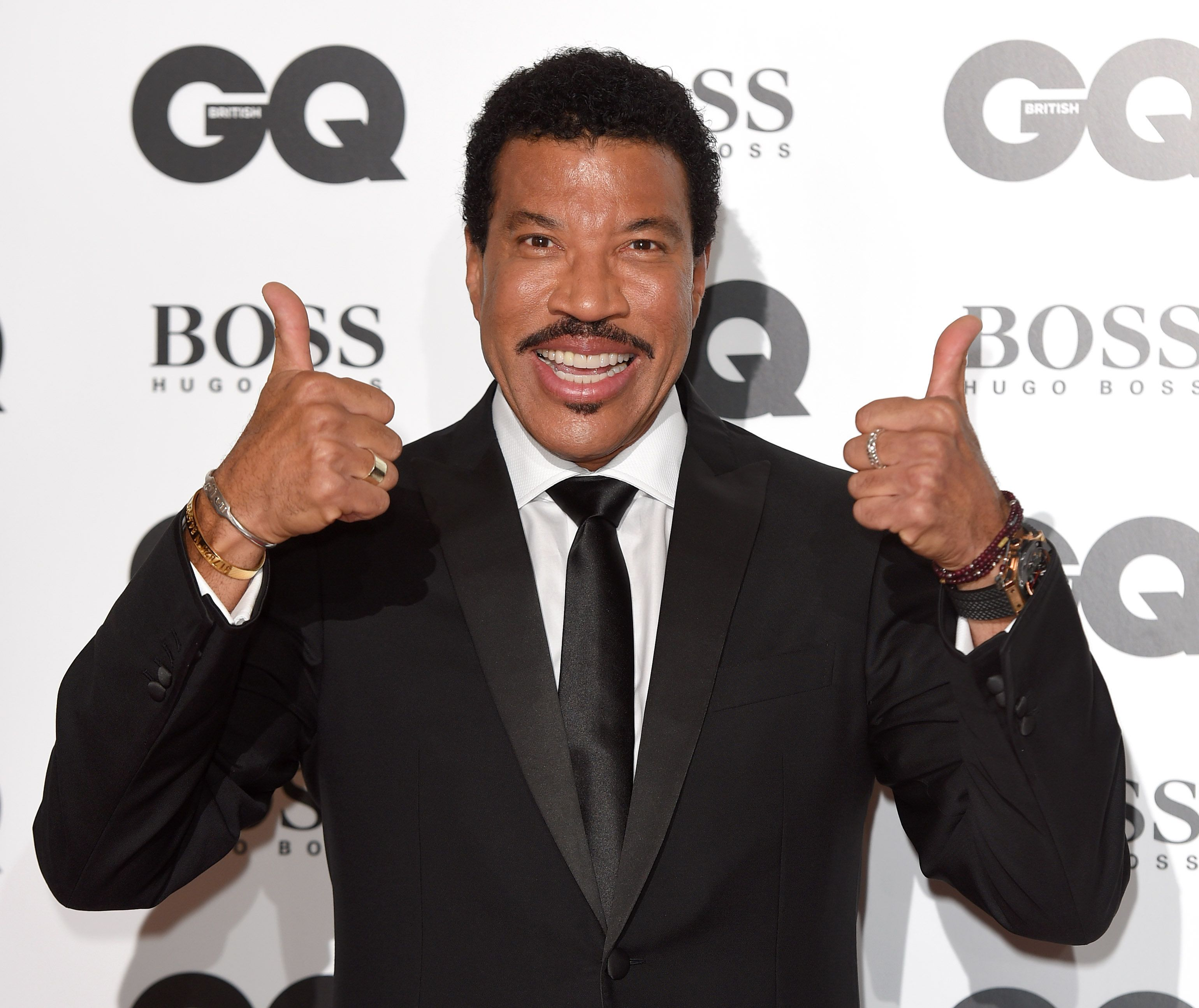 LONDON, ENGLAND - SEPTEMBER 08:  Lionel Richie attends the GQ Men Of The Year Awards at The Royal Opera House on September 8, 2015 in London, England.  (Photo by Karwai Tang/WireImage)