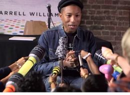 Kids Ask Pharrell Hard-Hitting Questions About His New Book 'Happy'