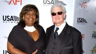 Roger Ebert and wife Chaz Hammelsmith Ebert (Photo by SGranitz/WireImage)