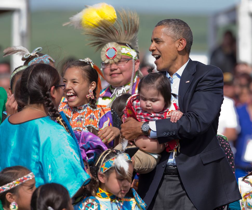 Relationship between Native Americans and the US. Positive or Negative?