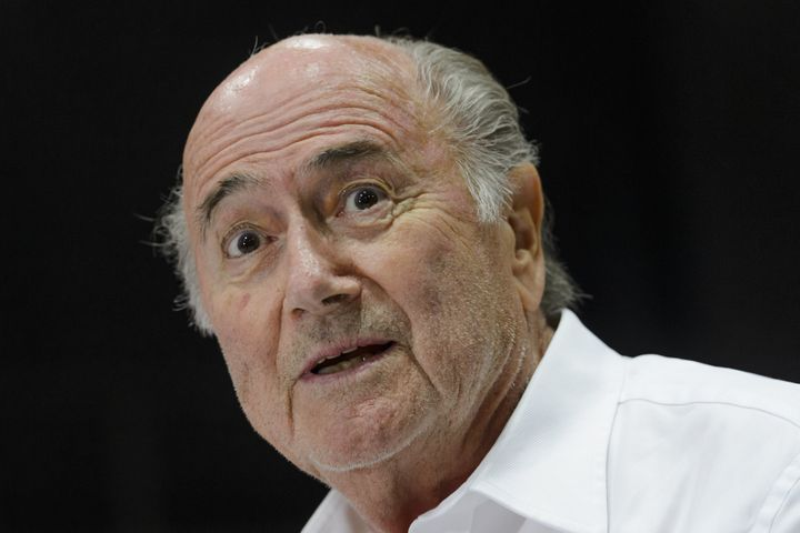 SeppBlatter reportedly feels he's been treated unfairly duringthe FIFA ethics scandal.