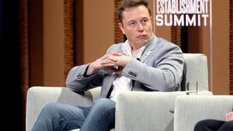 SAN FRANCISCO, CA - OCTOBER 06:  Tesla Motors CEO and Product Architect Elon Musk speaks onstage during 'What Will They Think of Next? Talking About Innovation' at the Vanity Fair New Establishment Summit at Yerba Buena Center for the Arts on October 6, 2015 in San Francisco, California.  (Photo by Michael Kovac/Getty Images for Vanity Fair)