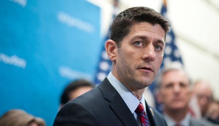 Rep. Paul Ryan (R-Wis.) doesn't want to be House speaker. But Republicans are pleading with him to change his mind.