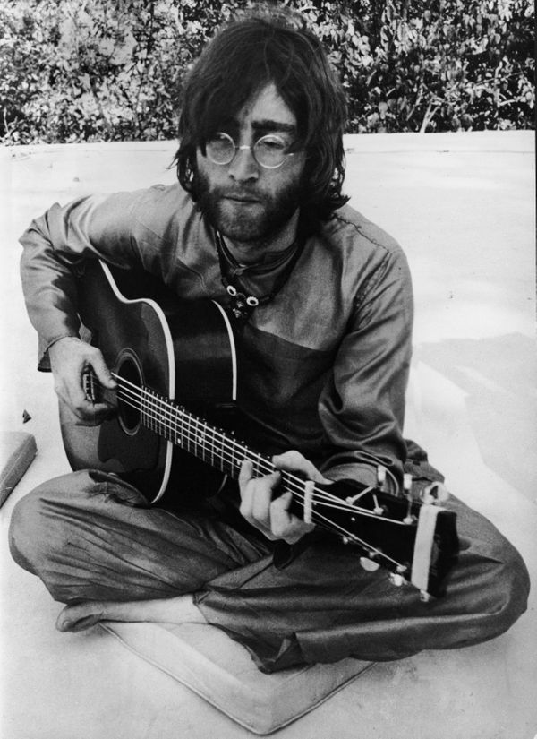 john lennon 39 s style through the years huffpost. Black Bedroom Furniture Sets. Home Design Ideas