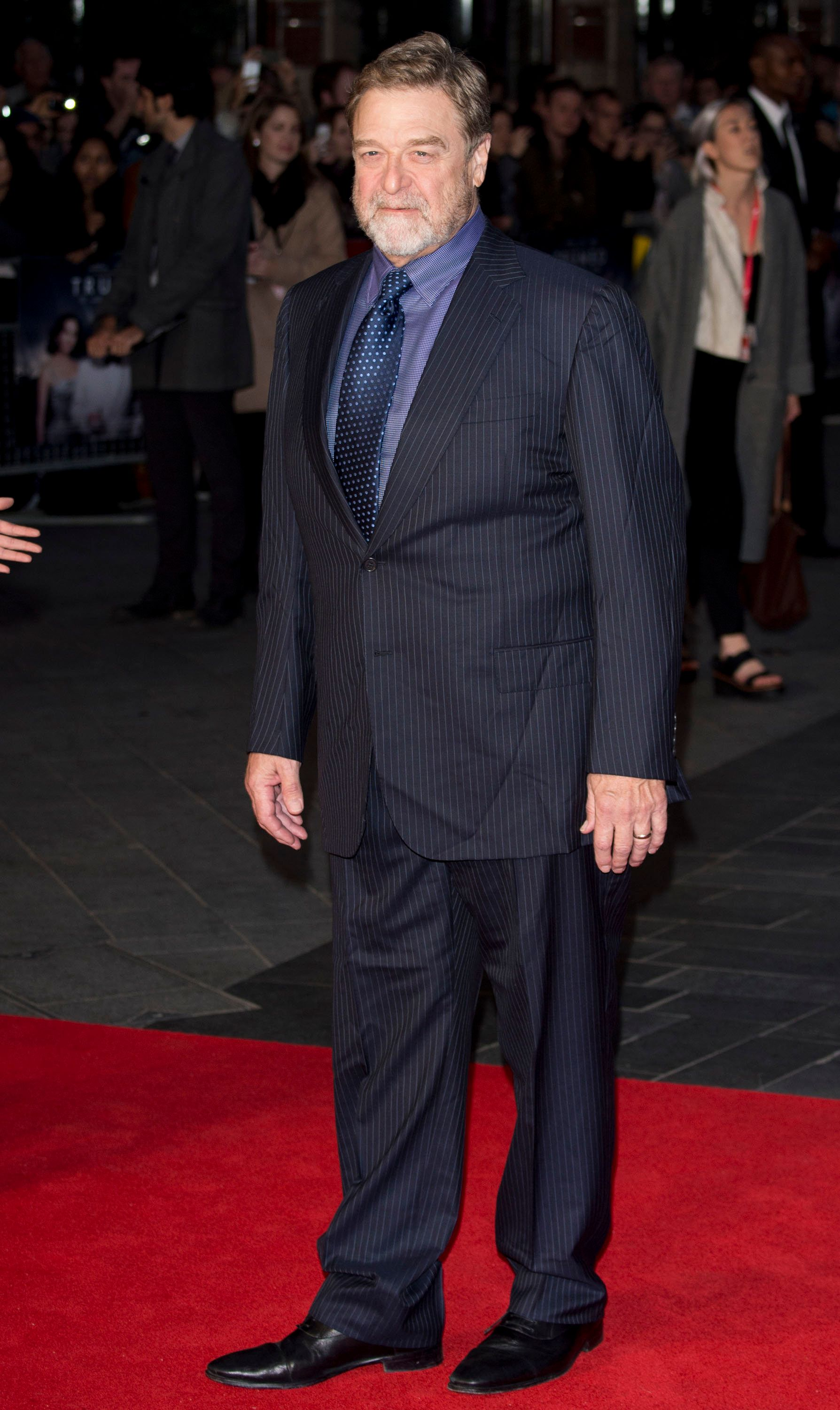 LONDON, ENGLAND - OCTOBER 08:  John Goodman attends the 'Trumbo' Accenture Gala during the BFI London Film Festival at Odeon Leicester Square on October 8, 2015 in London, England.  (Photo by Mark Cuthbert/UK Press via Getty Images)