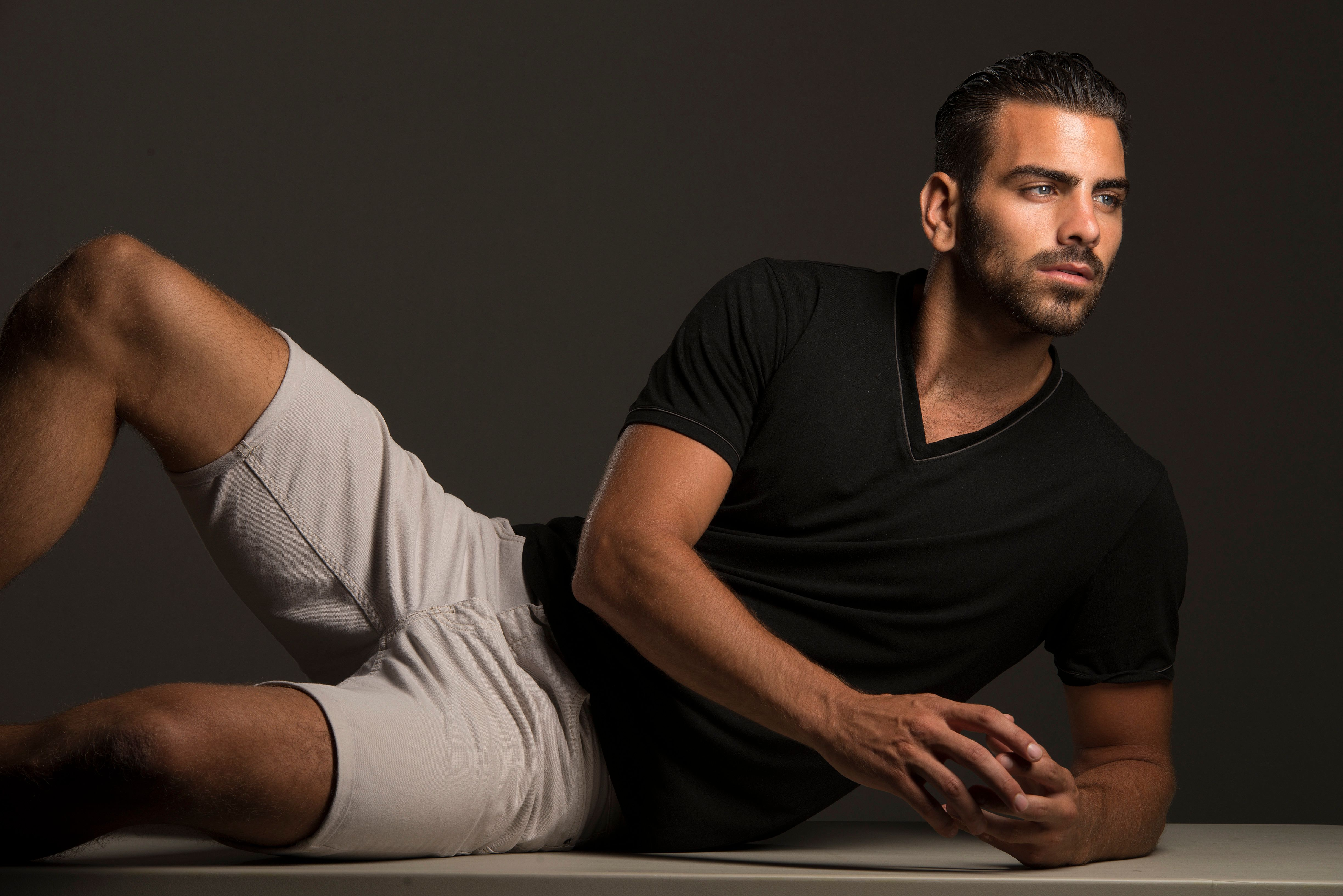 WASHINGTON, DC- AUGUST 05: Nyle DiMarco, a graduate of Gallaudet University, is the first deaf contestant to ever appear on America's Next Top Model. He is photographed at the Washington Post in Washington, D.C. on August 05, 2015.  (Photo by Marvin Joseph/The Washington Post via Getty Images)