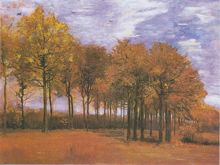 "<a href=""https://commons.wikimedia.org/wiki/File:Van_Gogh_-_Herbstlandschaft.jpeg"">Vincent van Gogh, ""Autumn Landscape,""&nbsp"